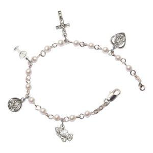 First Communion Rosary Bracelet